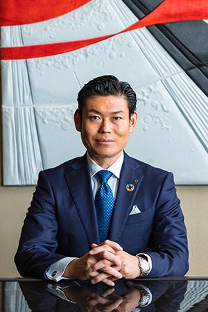 代表取締役社長 合田 真博